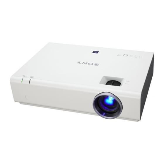 Sony VPL-EX255 (VPL-EX255) - Achat / Vente Vidéoprojecteur sur Cybertek.fr - 1
