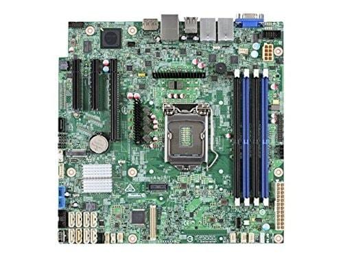 Intel S1200SPL Micro-ATX DDR4 - Carte mère Intel - Cybertek.fr - 0