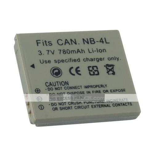 Compatible Canon NB4LH pour NB-4L (NB4LH) - Achat / Vente Batterie sur Cybertek.fr - 0