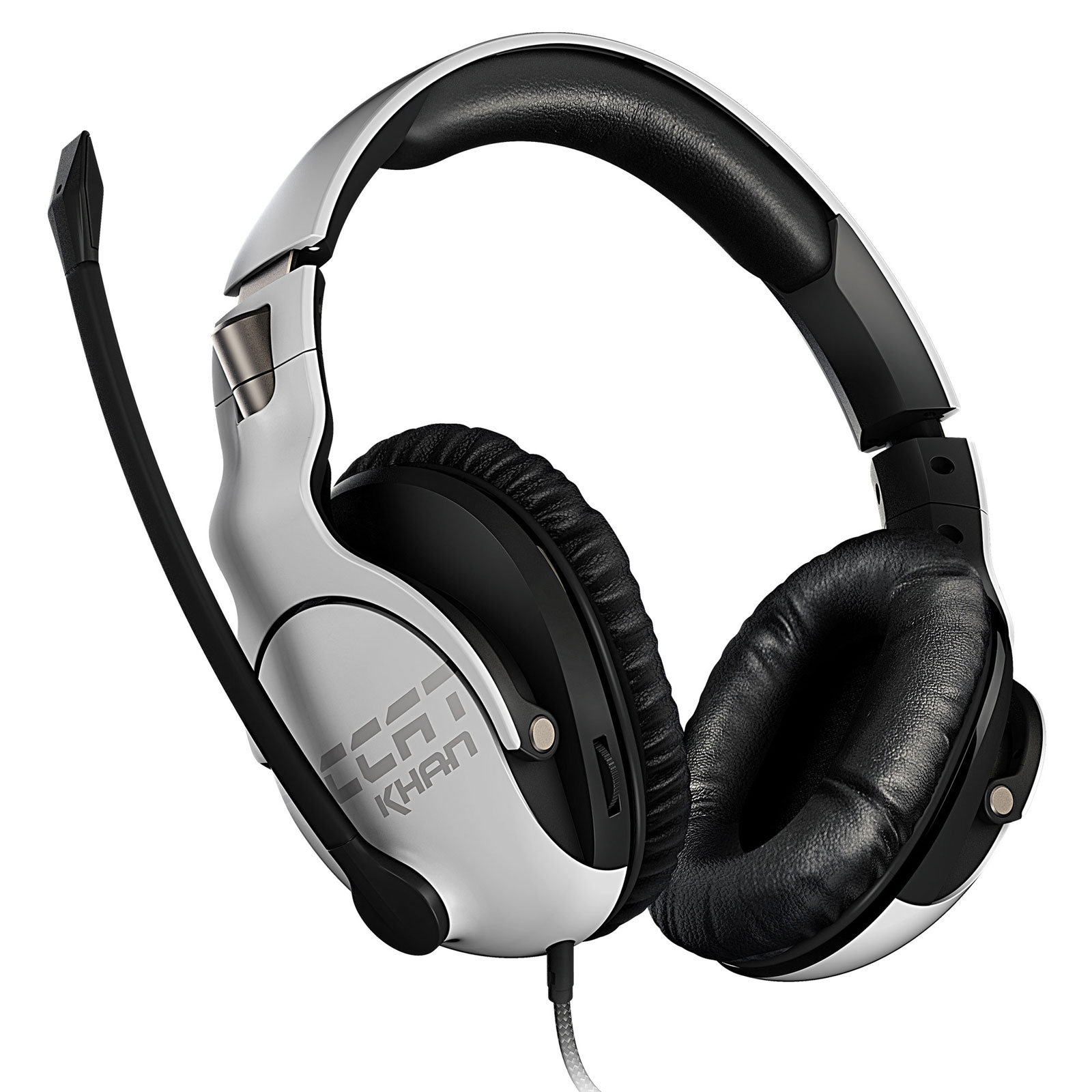 Roccat Khan PRO Blanc Stereo Blanc - Micro-casque - Cybertek.fr - 3