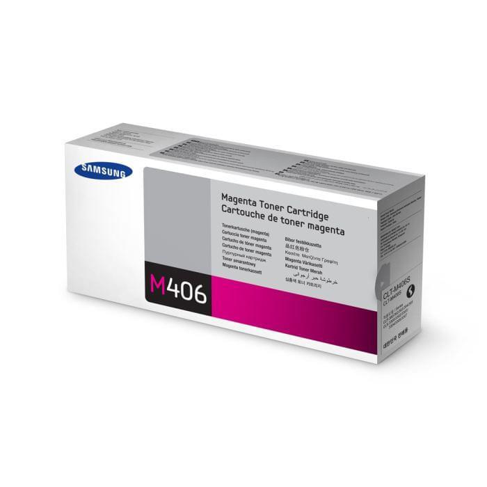 Samsung Toner CLT-M406S Magenta (CLT-M406S) - Achat / Vente Consommable imprimante sur Cybertek.fr - 0