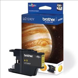 Brother Cartouche LC1240Y Jaune (LC1240Y) - Achat / Vente Consommable Imprimante sur Cybertek.fr - 0