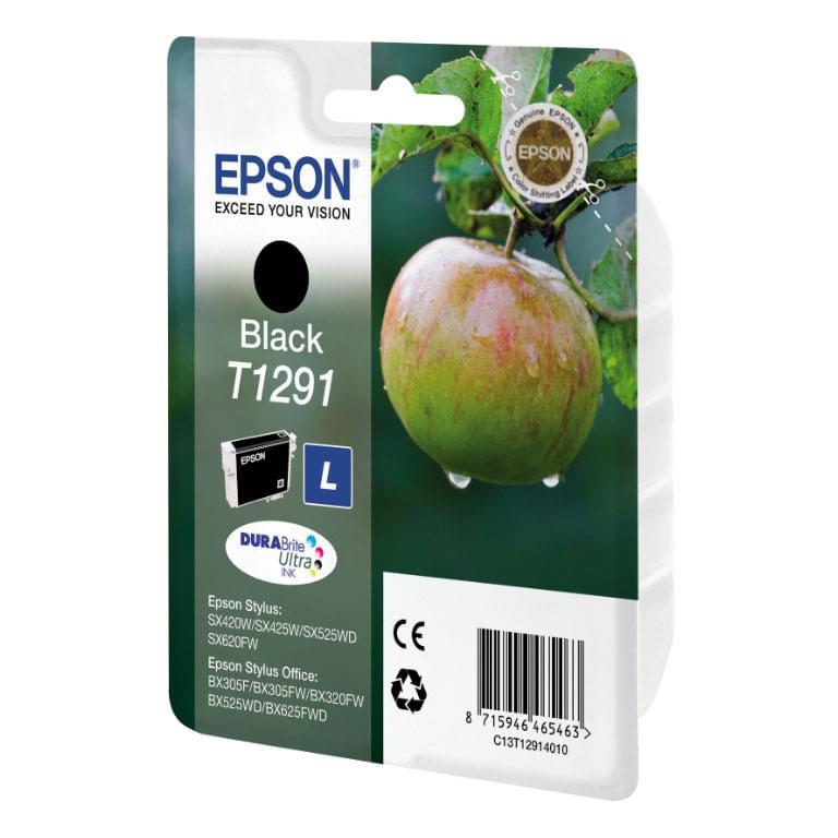 Epson Cartouche T1291 Noir (C13T129140) - Achat / Vente Consommable Imprimante sur Cybertek.fr - 0