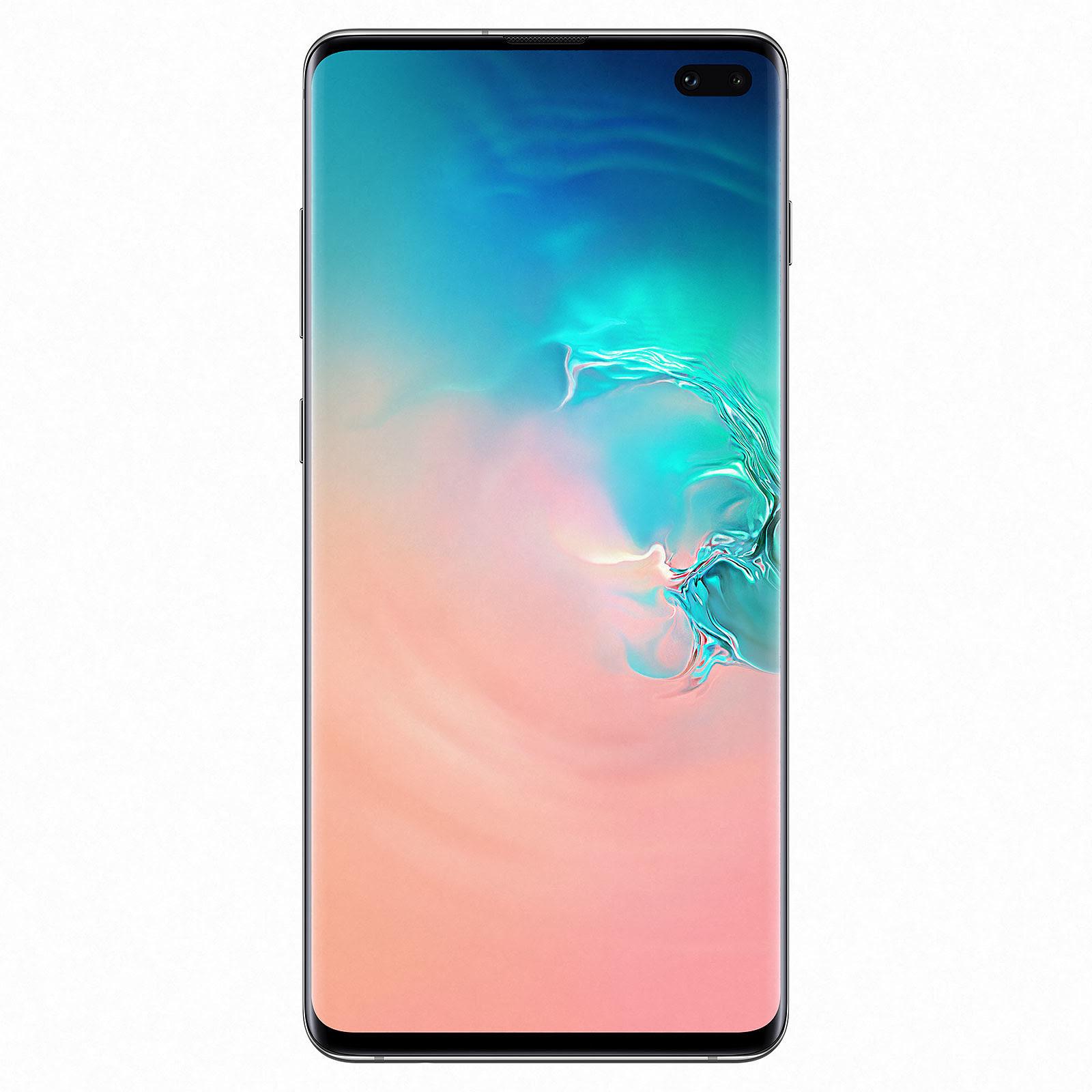 Samsung Galaxy S10+ G975 128Go White - Téléphonie Samsung - 0