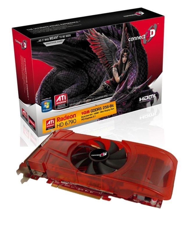 Connect 3D Radeon HD 6790 1Go - Carte graphique Connect 3D - 0