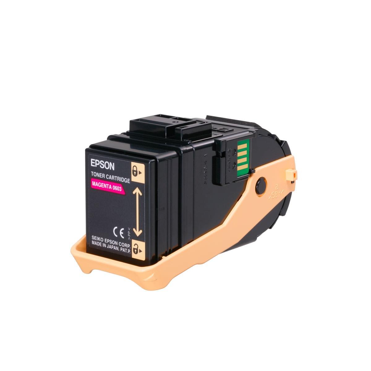 Toner Magenta 7500p - C13S050603  pour imprimante Laser Epson - 0
