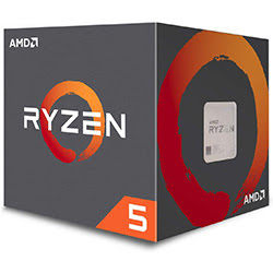 image produit AMD Ryzen 5 1600 - 3.6GHz/19Mo/AM4/Stealth/BOX Cybertek