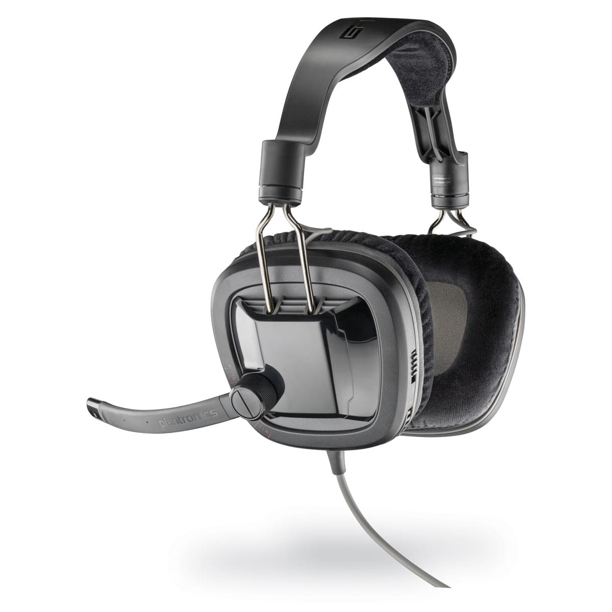 Plantronics Gamecom 380 + Trackmania Canyon (86050-05 obso) - Achat / Vente Micro-casque sur Cybertek.fr - 0