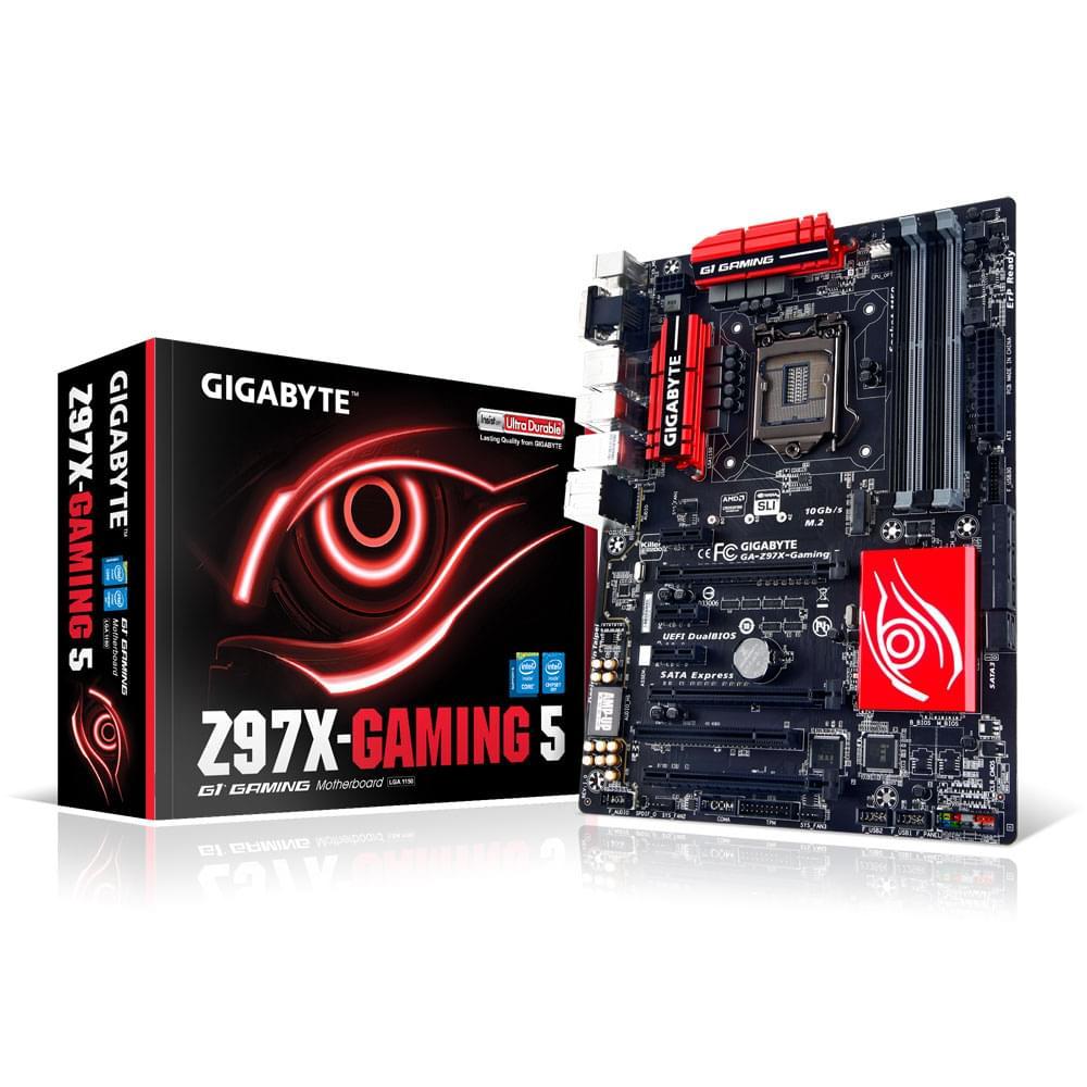 Gigabyte Z97X-Gaming 5 (GA-Z97X-GAMING 5) - Achat / Vente Carte Mère sur Cybertek.fr - 0