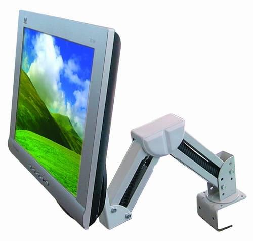 """Bras articulé pivotant support LCD 15/24"""" VESA - Accessoire écran - 0"""