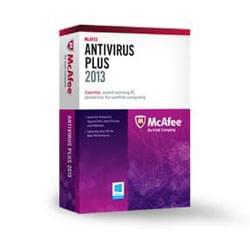 image produit McAfee Anti-Virus PLUS - 1 An / 1 PC Cybertek