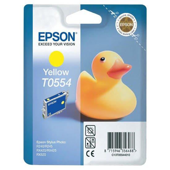 Epson Cartouche T0554 Jaune RX420/425 (C13T0554) - Achat / Vente Consommable imprimante sur Cybertek.fr - 0