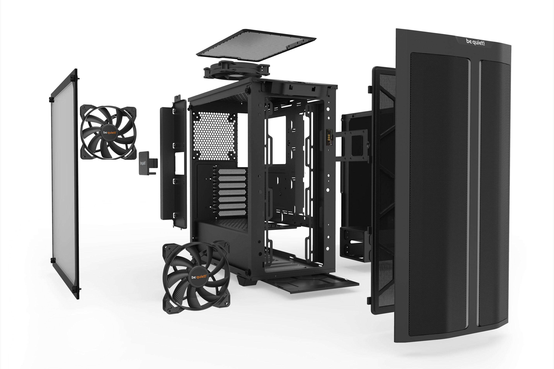 Be Quiet! Pure Base 500DX Black BGW37 Noir - Boîtier PC Be Quiet! - 3
