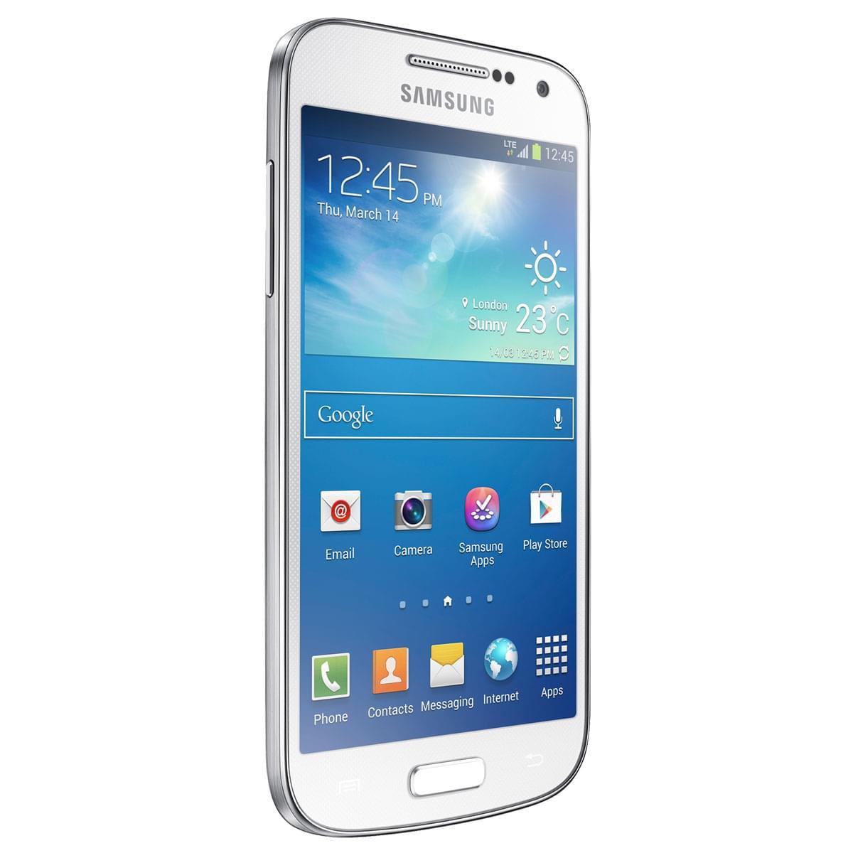 Samsung Galaxy S4 Mini 8Go Blanc GT-I9195 White (GT-I9195ZWAXEF) - Achat / Vente Téléphonie sur Cybertek.fr - 0