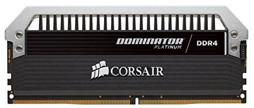 Corsair Dominator Platinium 4c16Go 3466MHz 1,35v with airflow fan (CMD64GX4M4B3466C16) - Achat / Vente Mémoire PC sur Cybertek.fr - 2