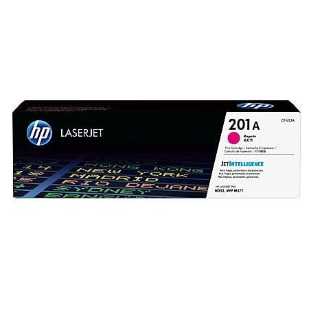 Toner 201A Magenta 1400p - CF403A  pour imprimante  HP - 0