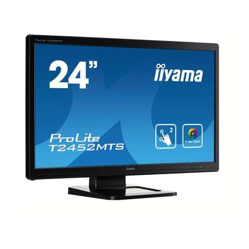 Iiyama T2452MTS-B3 (T2452MTS-B3) - Achat / Vente Ecran PC sur Cybertek.fr - 0