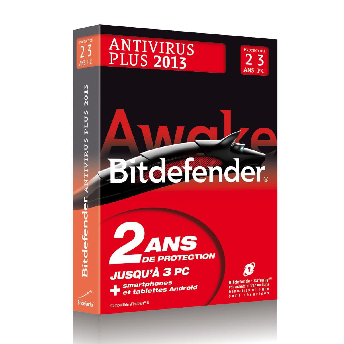 Bitdefender Antivirus Plus 2013 (B-FBDAV-3W2P003) - Achat / Vente Logiciel sécurité sur Cybertek.fr - 0
