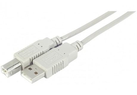 Câble Imprimante USB2.0 - 3m - Connectique PC - Cybertek.fr - 0
