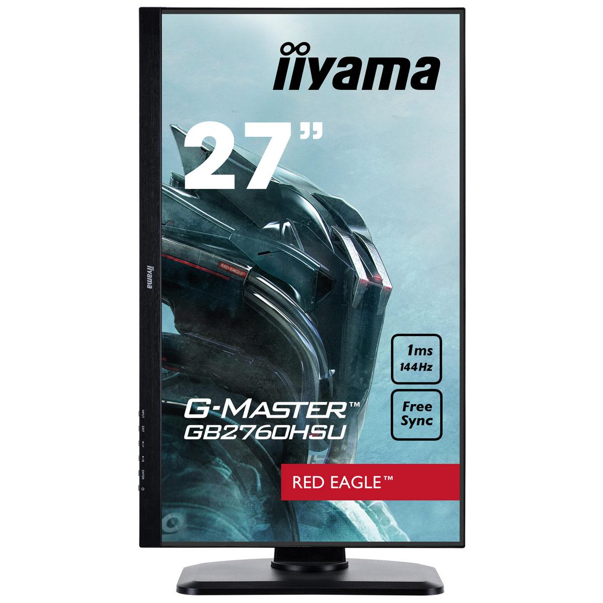 """Iiyama 27""""  GB2760HSU-B1 - Ecran PC Iiyama - Cybertek.fr - 3"""
