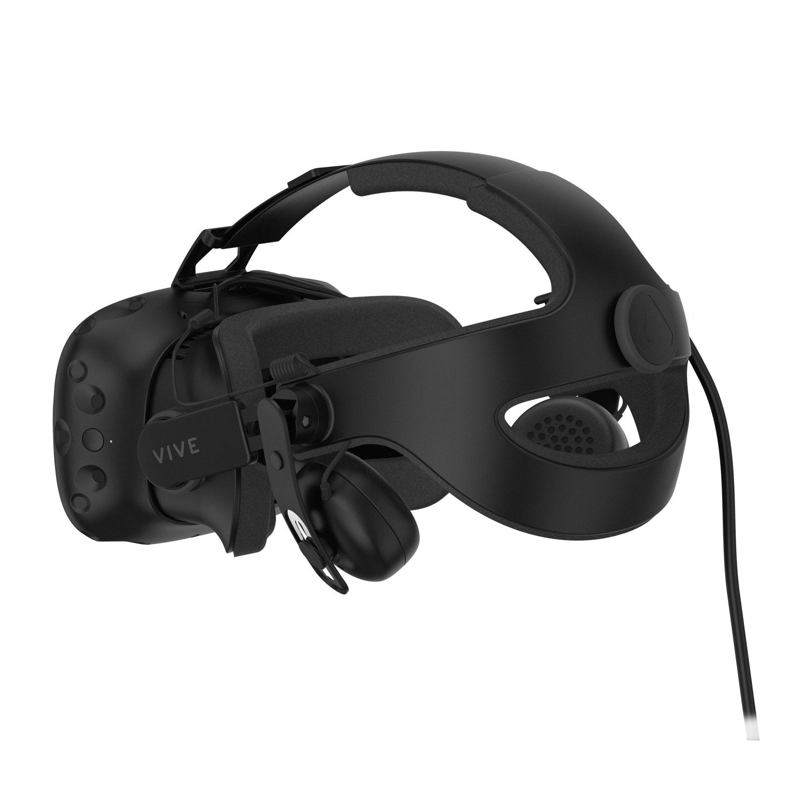 HTC Serre tête avec Audio Deluxe (99HAMR002-00) - Achat / Vente Objet connecté / Domotique sur Cybertek.fr - 2