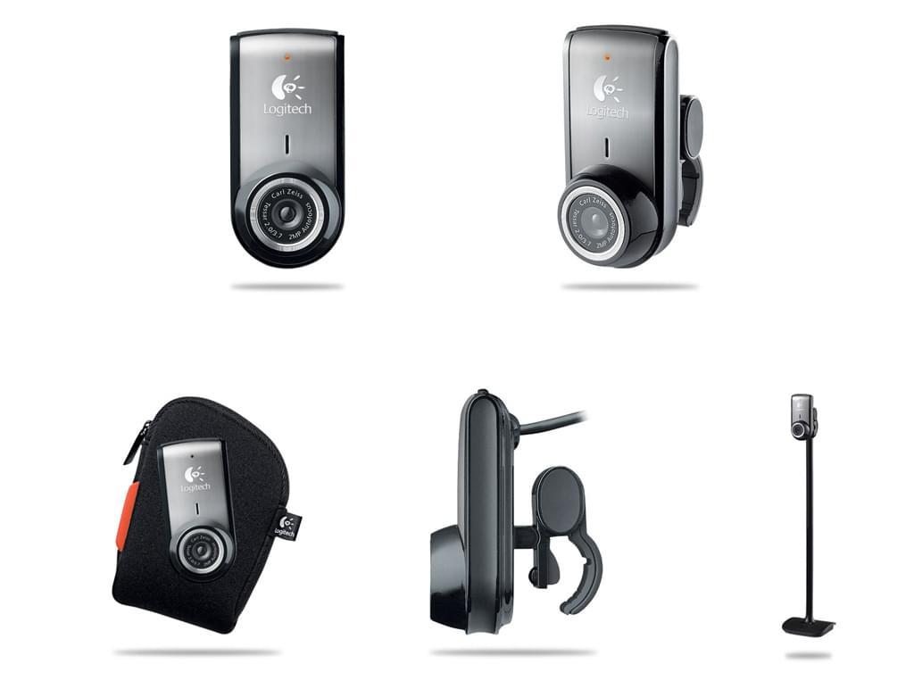 Logitech QuickCam Pro for Notebooks (960-000047 soldé) - Achat / Vente Caméra / Webcam sur Cybertek.fr - 0