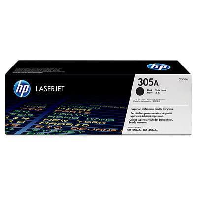 HP Toner 305A Noir CE410A (CE410A) - Achat / Vente Consommable imprimante sur Cybertek.fr - 0