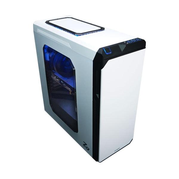 Zalman Z9 NEO White - Boîtier PC Aluminium - Sans Alim - 0
