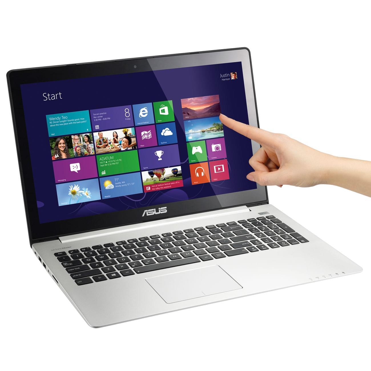 Asus S500CA-CJ003H (S500CA-CJ003H) - Achat / Vente PC portable sur Cybertek.fr - 0