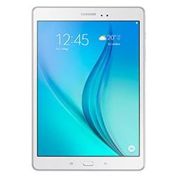 Samsung Tablette Tactile Galaxy Tab A T550NZW - Blanc/16Go/9.7