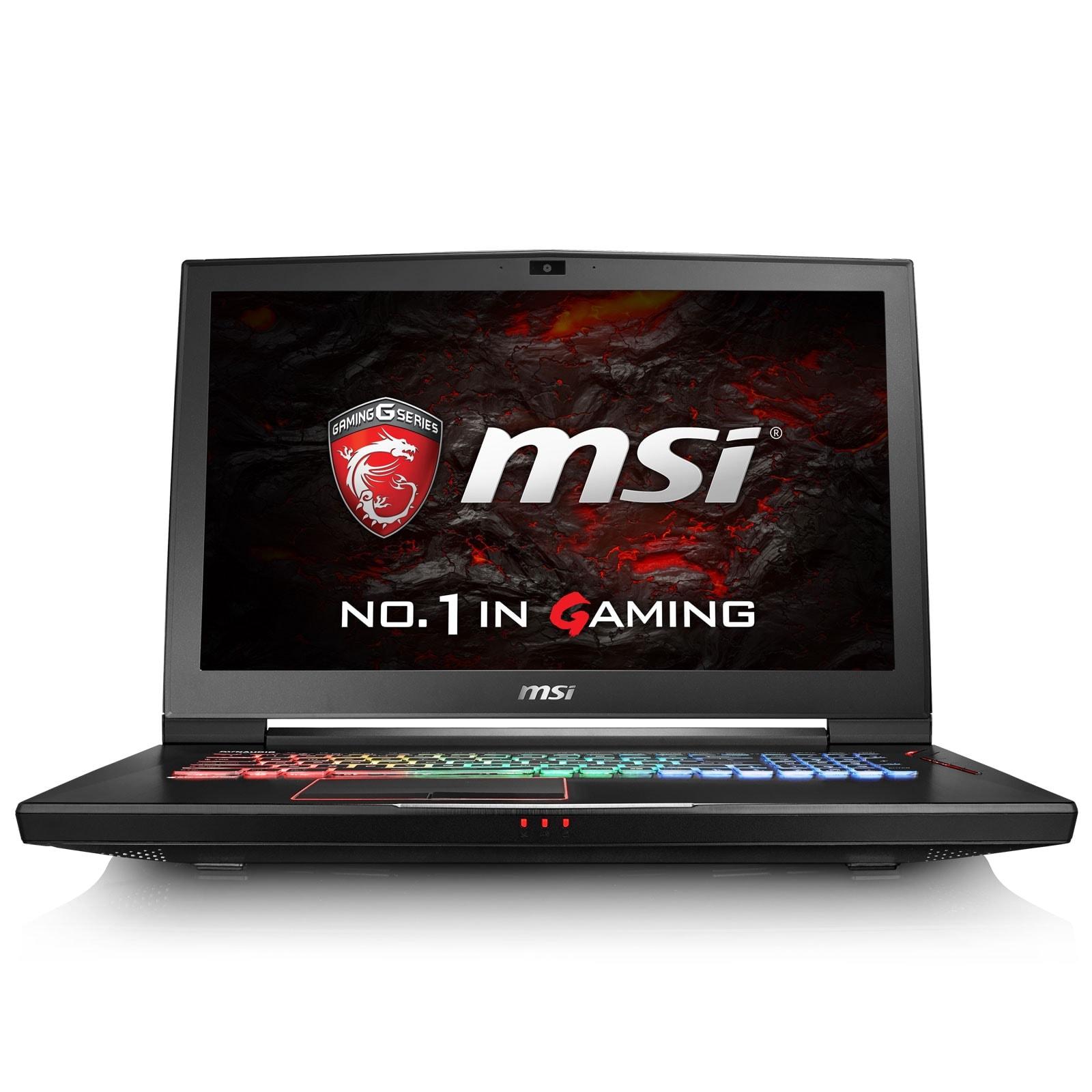 MSI GT73VR 6RF (Titan Pro)-075FR (9S7-17A111-075) - Achat / Vente PC portable sur Cybertek.fr - 2