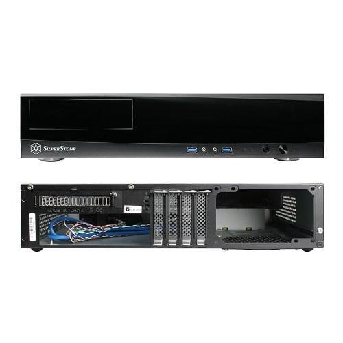 Silverstone HTPC Milo ML03 (SST-ML03B) - Achat / Vente Boîtier PC sur Cybertek.fr - 0