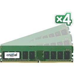 Crucial CT4K8G4WFS824A (4x8Go DDR4 2400 PC19200 ECC) (CT4K8G4WFS824A) - Achat / Vente Mémoire PC sur Cybertek.fr - 0