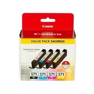 Canon Pack cartouches Noire+couleurs (0386C005) - Achat / Vente Consommable imprimante sur Cybertek.fr - 0