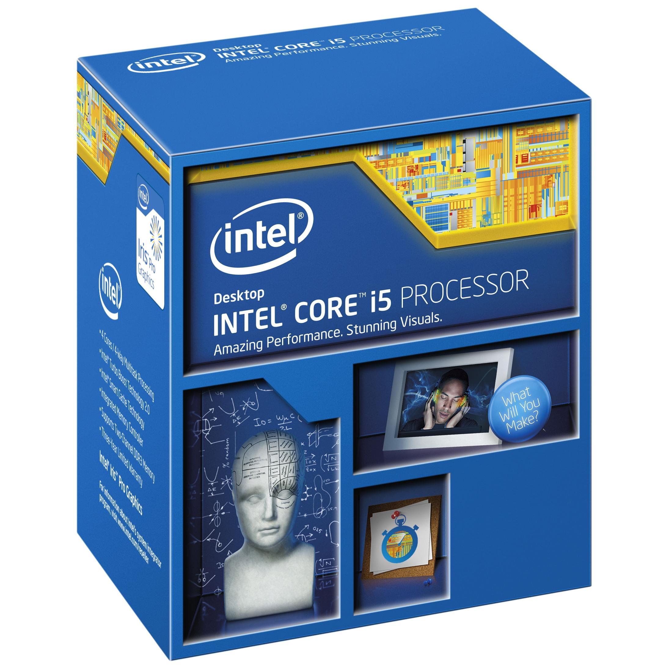 Intel Core i5-5675C (BX80658I55675C soldé) - Achat / Vente Processeur sur Cybertek.fr - 0