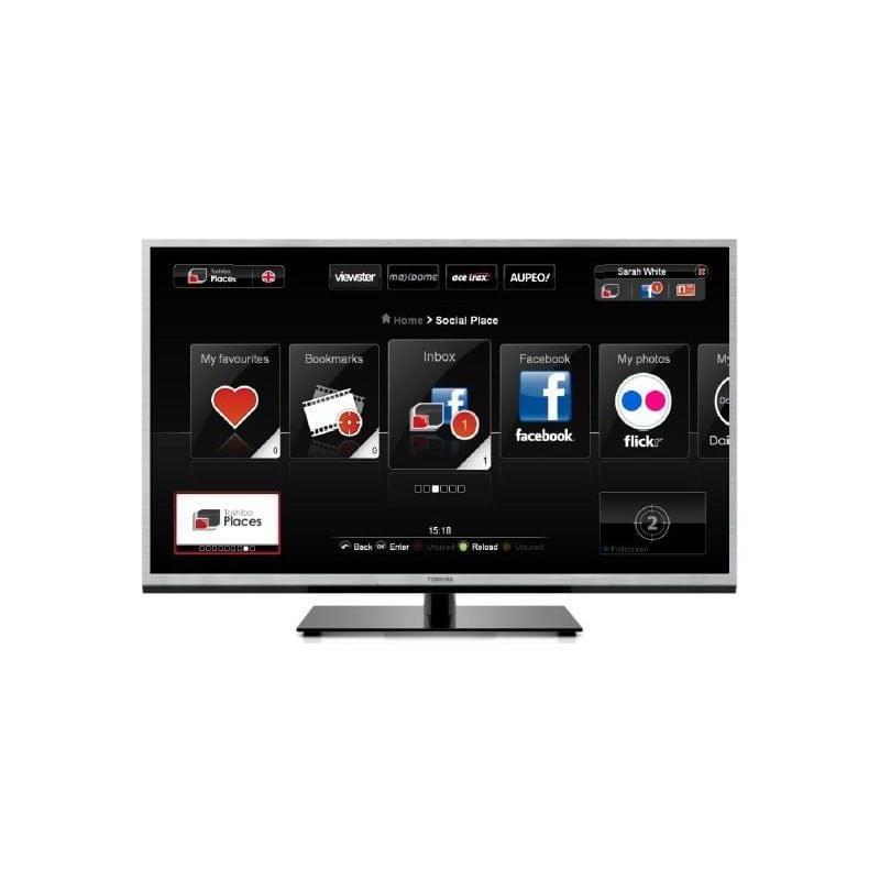 """Toshiba 40TL933F - 40"""" (102cm) LED 3D HDTV 1080p 100Hz - TV - 0"""