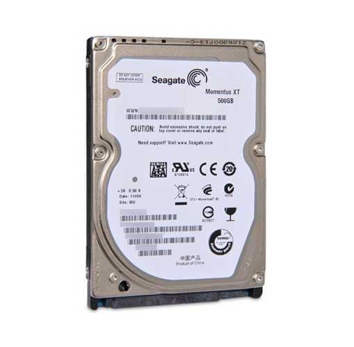 """Seagate 500Go 7200Tr SATA Hybrid SSD Momentus XT Recertif. (ST9500620AS) - Achat / Vente Disque dur interne 2.5"""" sur Cybertek.fr - 0"""