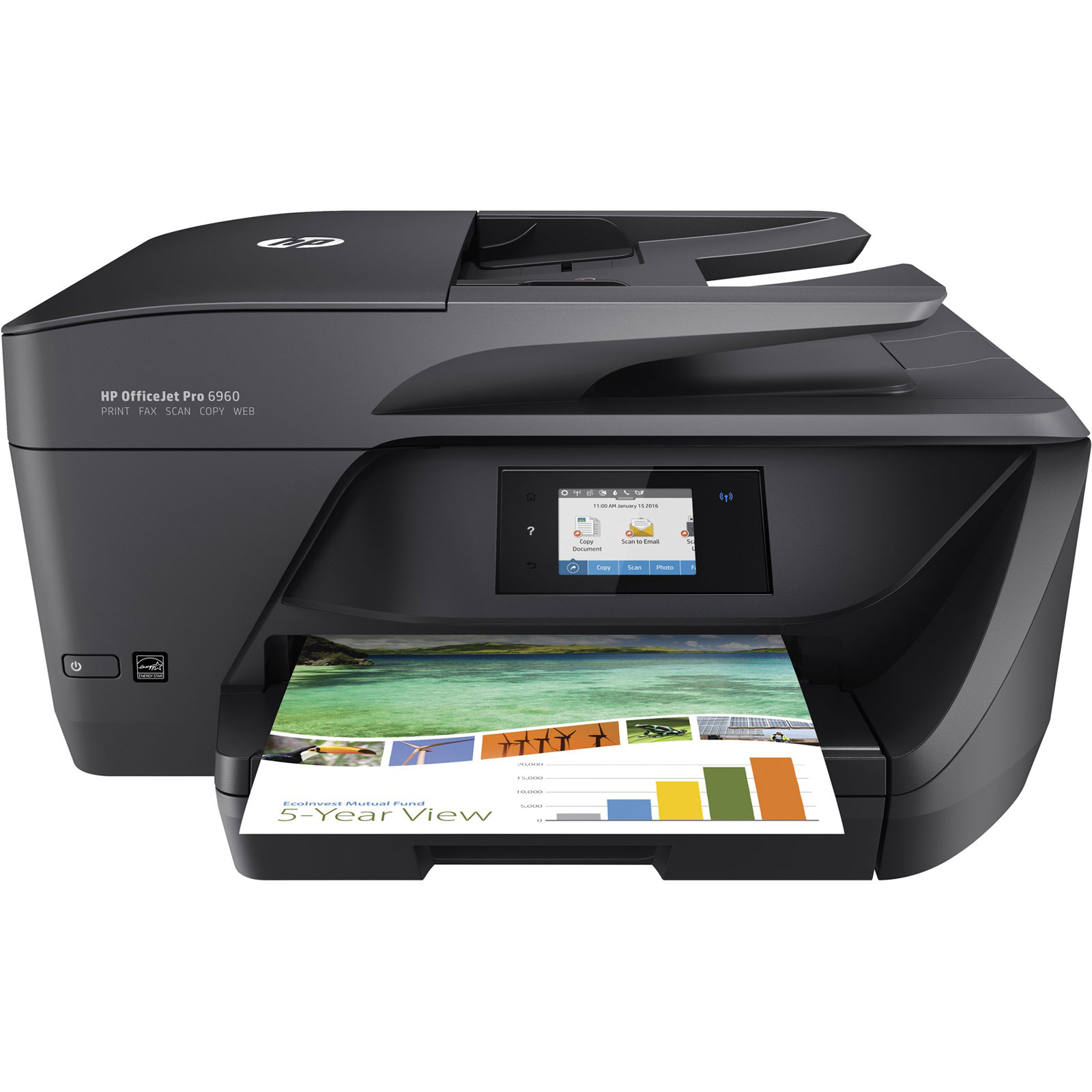 Imprimante multifonction HP OfficeJet PRO 6960 All-in-one - 0