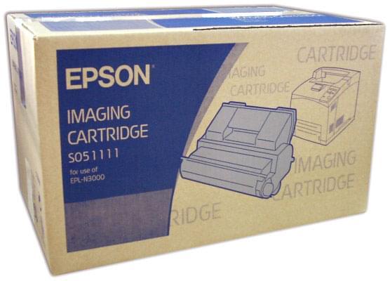 Toner Noir 15000 p. - C13S051111 pour imprimante Laser Epson - 0