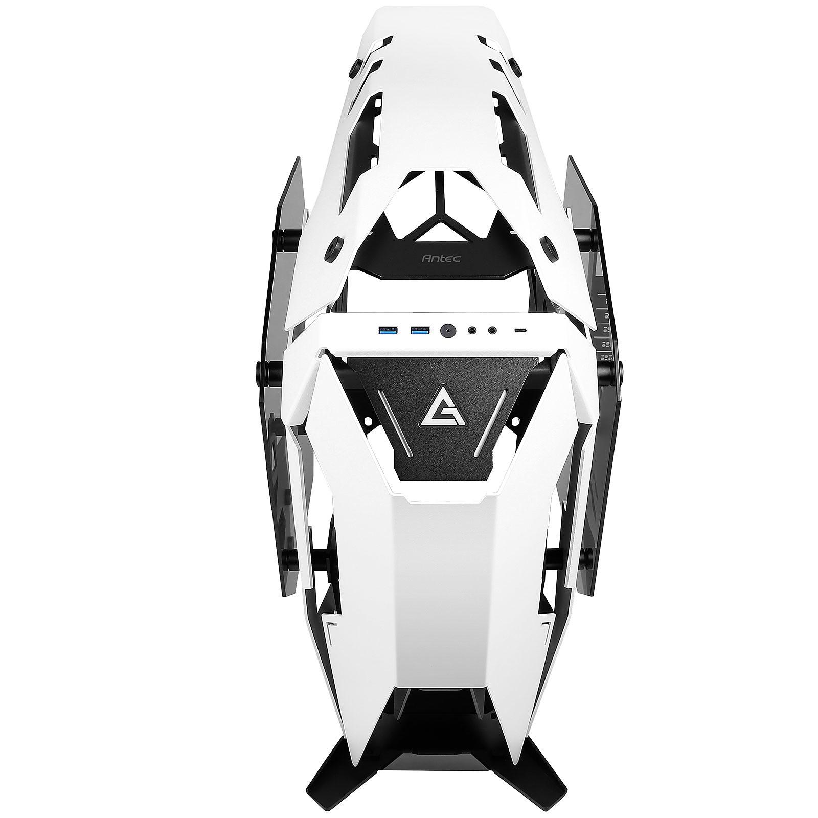 Antec TORQUE Black/White Blanc - Boîtier PC Antec - Cybertek.fr - 4