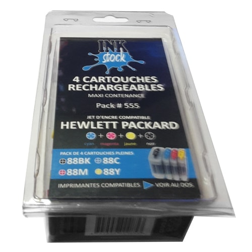 DUST Eco Pack cart. rechargeables HP363 - Cybertek.fr - 0