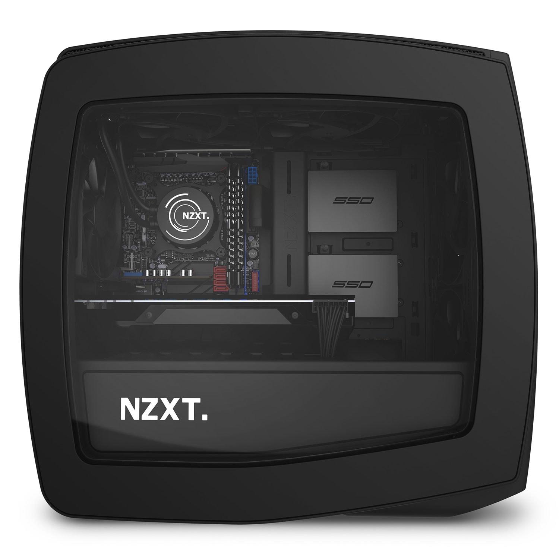 NZXT Manta Mat Noir Fenêtre Noir - Boîtier PC NZXT - Cybertek.fr - 4