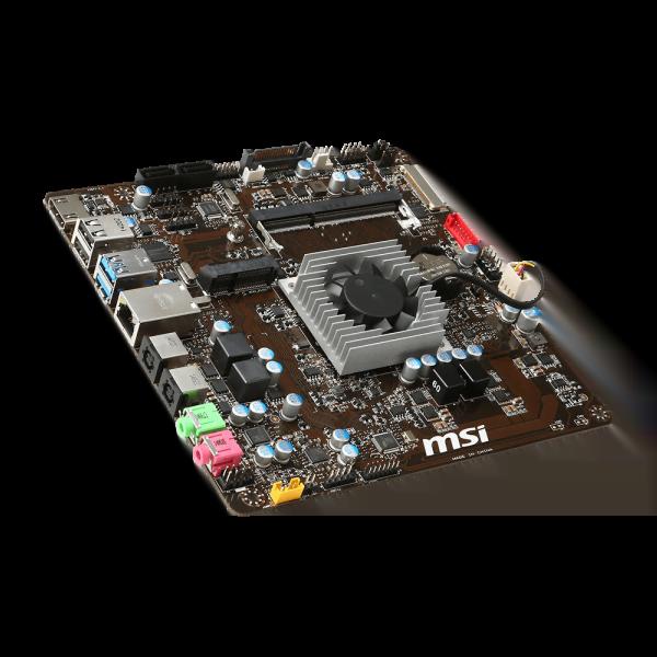 MSI J1800TI Mini-ITX DDR3 - Carte mère MSI - Cybertek.fr - 1