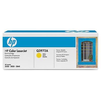 Toner Jaune Q3972A pour imprimante Laser HP - 0