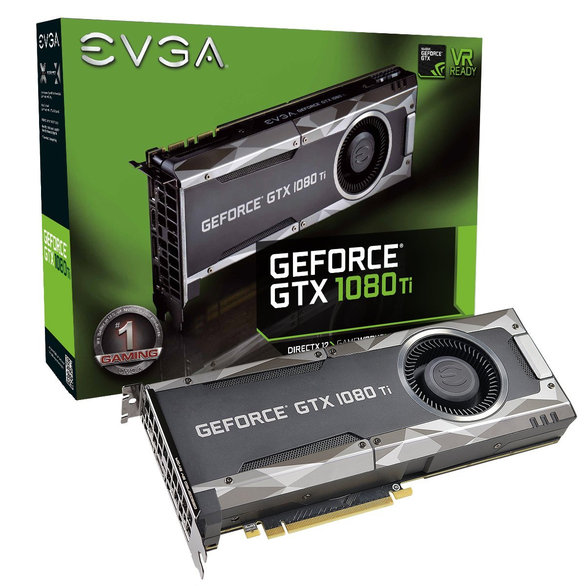 EVGA GTX 1080 Ti Gaming 5390 11Go - Carte graphique EVGA - 0