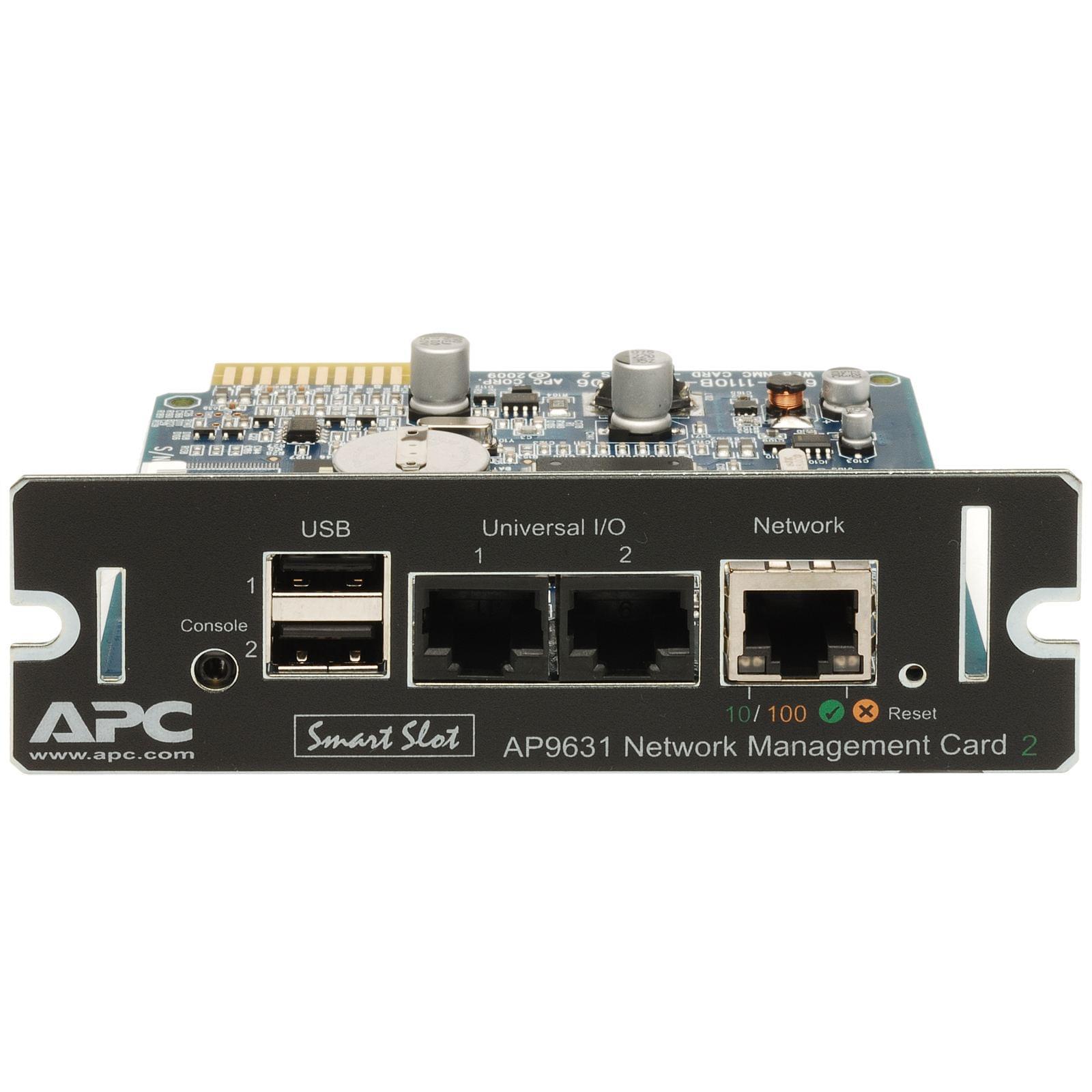 Network Management Card 2 AP9631 - Onduleur APC - Cybertek.fr - 0