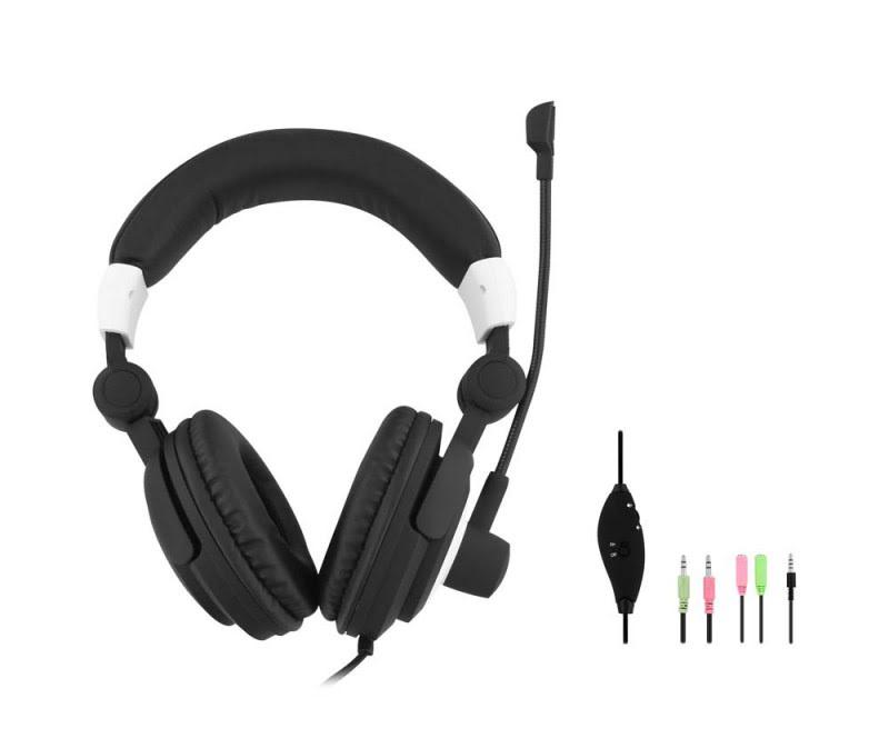 T'nB HS-400 Stereo Noir - Micro-casque - Cybertek.fr - 1