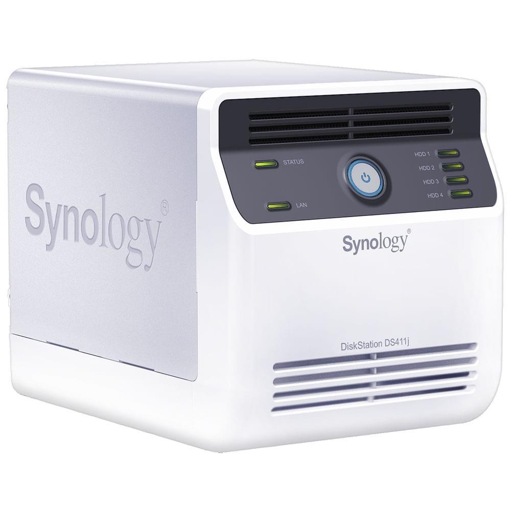 Synology NAS RJ45 (DS411J) - Achat / Vente Boîtier externe sur Cybertek.fr - 0