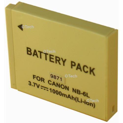 Batterie Canon pour APN NB-6LH 1000mAh - NC-BP678-1000 - 0