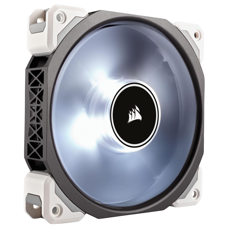 Corsair ML120 PRO LED White 120mm (CO-9050041-WW) - Achat / Vente Ventilateur boîtier sur Cybertek.fr - 2